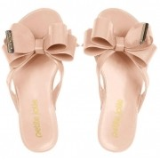 Chinelo Infantil Petite Jolie Lucky Nude PJ4533IN