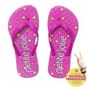 Chinelo Infantil Petite Jolie Recolorir Pink/Super Star PJ6036IN
