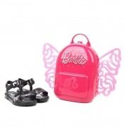 Sandália Infantil Grendene Kids Barbie Butterfly Feminina - Preto
