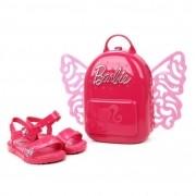 Sandália Infantil Grendene Kids Barbie Butterfly Feminina - Rosa e Pink