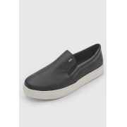 SLIP ON SANTA LOLLA NEW PELE PRETO