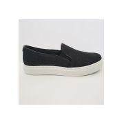 SLIP ON SANTA LOLLA PRETO BRILHO - 01AC.0E34.001D.0001