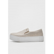 SLIP ON SANTA LOLLA SOLA ALTA BEGE NATURAL