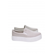 SLIP ON SANTA LOLLA SOLA ALTA CINZA