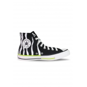 TÊNIS CONVERSE ALL STAR CHUCK TAYLOR HI PRETO ANIMAL PRINT
