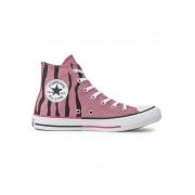 Tênis Converse All Star Chuck Taylor HI Rosa Palido Animal Print