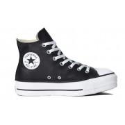 Tênis Converse All Star Chuck Taylor Platform Lift HI Preto Branco CT09820002