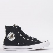 TENIS CONVERSE CHUCK TAYLOR ALL STAR HI PRETO/AMENDOA CT14670001
