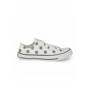 TENIS CONVERSE CHUCK TAYLOR ALL STAR OX POÁ BRANCO CT15340003