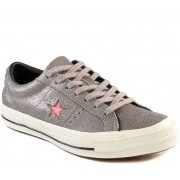 Tênis Converse One Star CO02940001 Cinza/Rosa