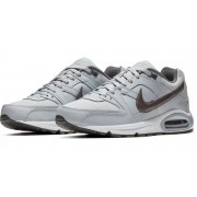 Tênis Nike Air Max Command Leather Cinza e Preto