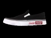 Tênis Slip On Coca Cola Shoes Iate Blend CC1781 Preto
