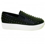 Tênis Slip On Santa Lolla Spike Preto - 0397.2C46