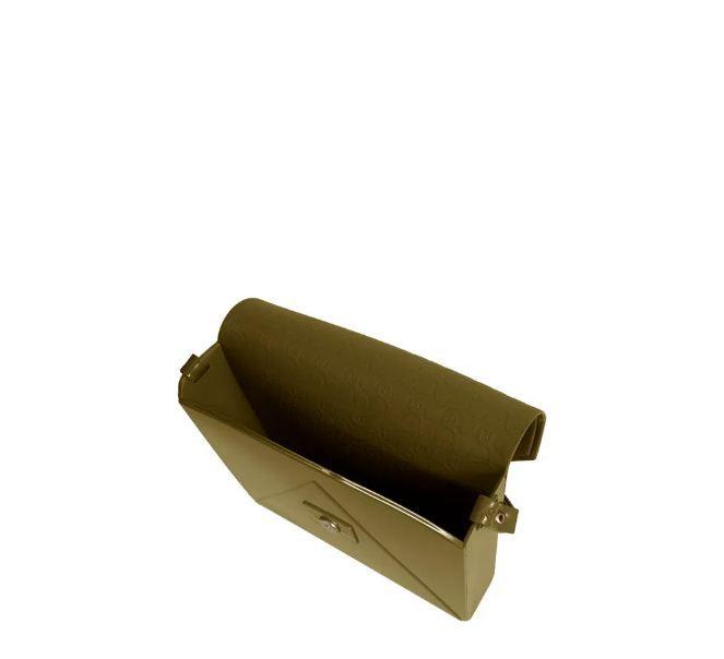Bolsa Petite Jolie Flap Militar PJ2365
