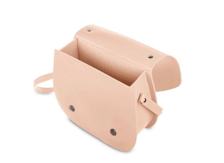 Bolsa Saddle Petite Jolie Nude PJ4360
