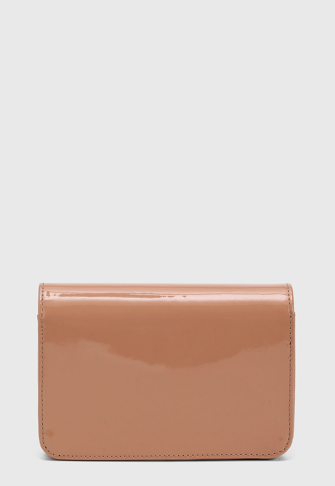 Bolsa Santa Lolla Verniz Nude Pequena