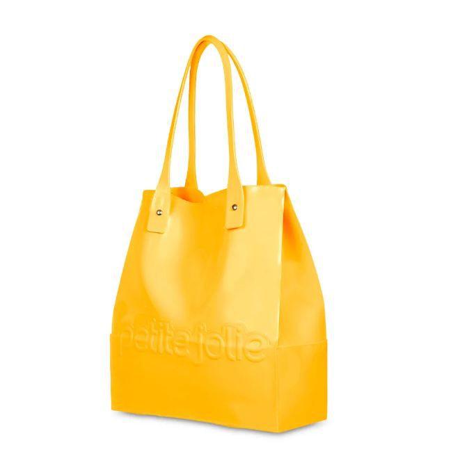 Bolsa Shopper Petite Jolie Amarela PJ4319