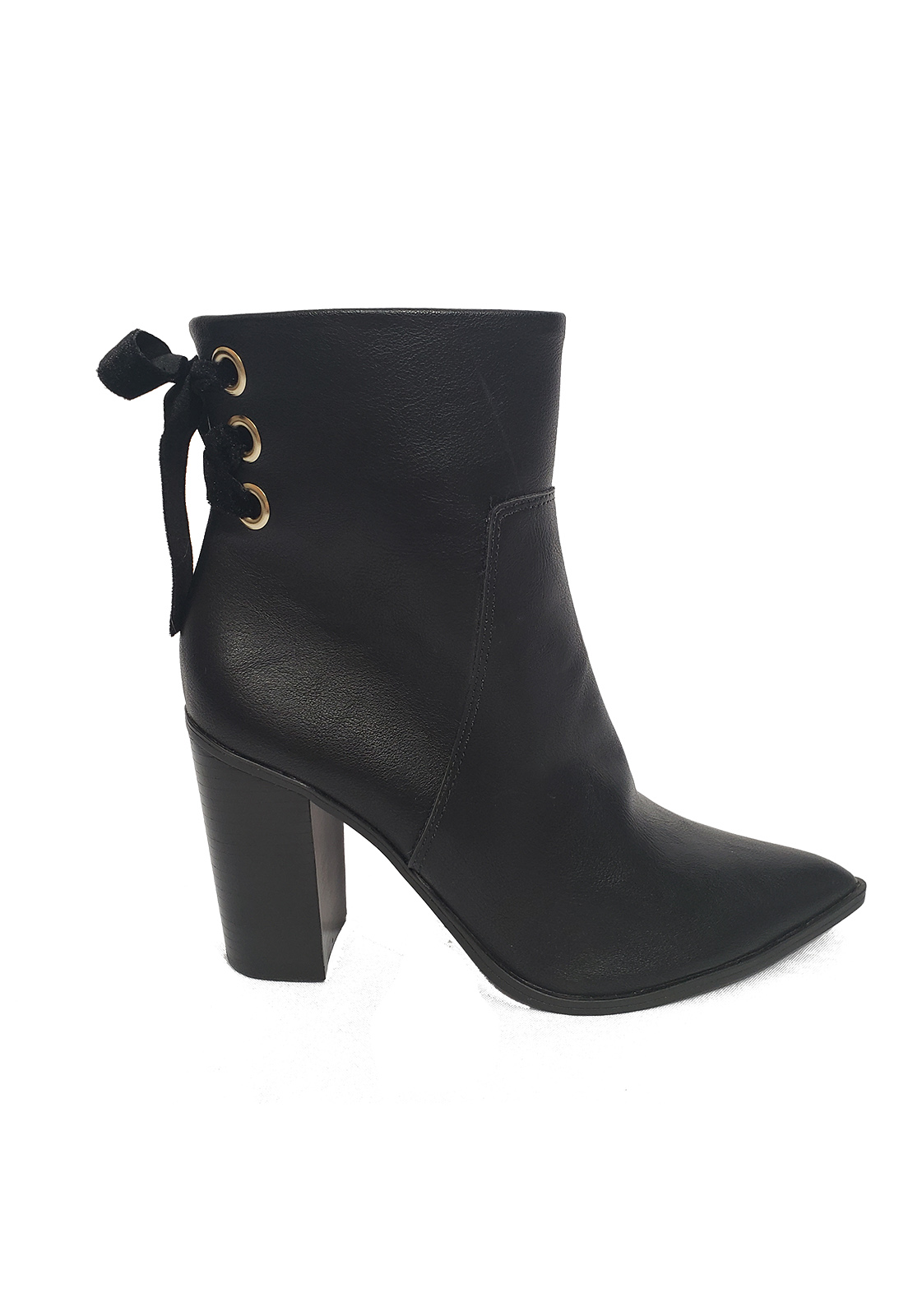 Bota - Ankle boots de salto alto bebece