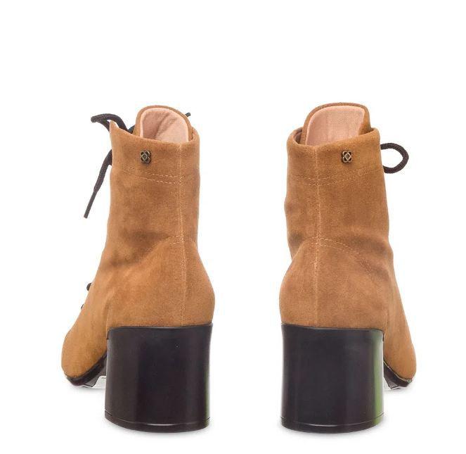 Bota Petite Jolie Sock Boot Caramelo PJ4981