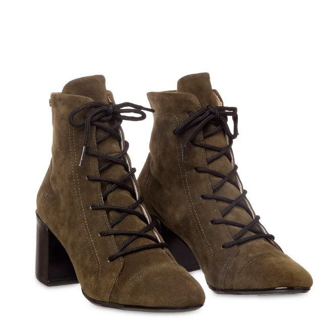 Bota Petite Jolie Sock Boot Militar PJ4981