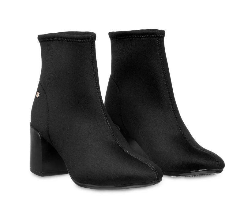 Bota Petite Jolie Sock Boot Preto PJ4913