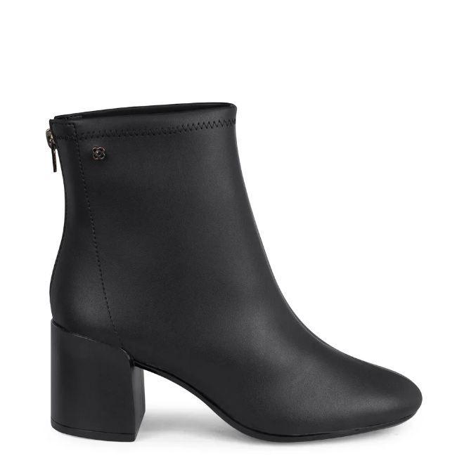 Bota Sock Petite Jolie Preto PJ4128