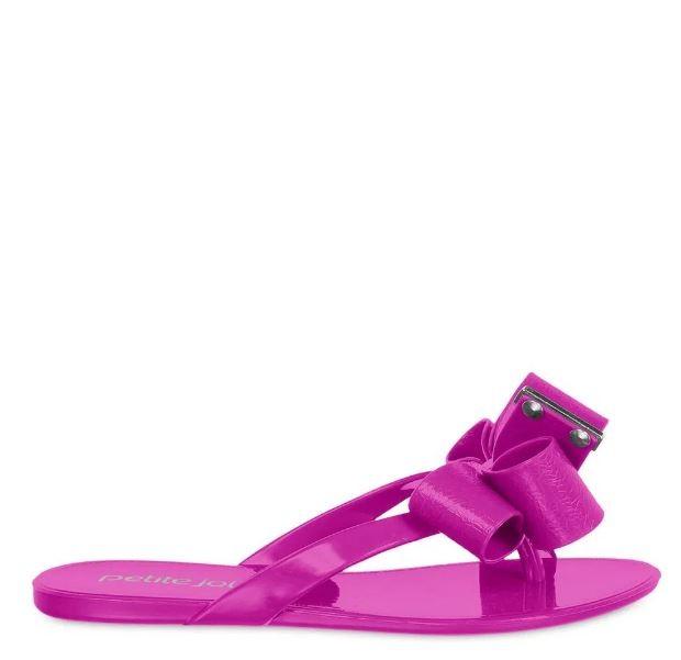 Chinelo Infantil Petite Jolie Lucky Pink Pitaya PJ4533IN