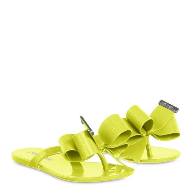 Chinelo Infantil Petite Jolie Lucky Verde Abacate PJ4533IN