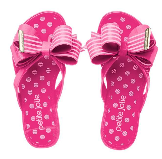 Chinelo Petite Jolie Infantil Lucky Pink PJ4952IN