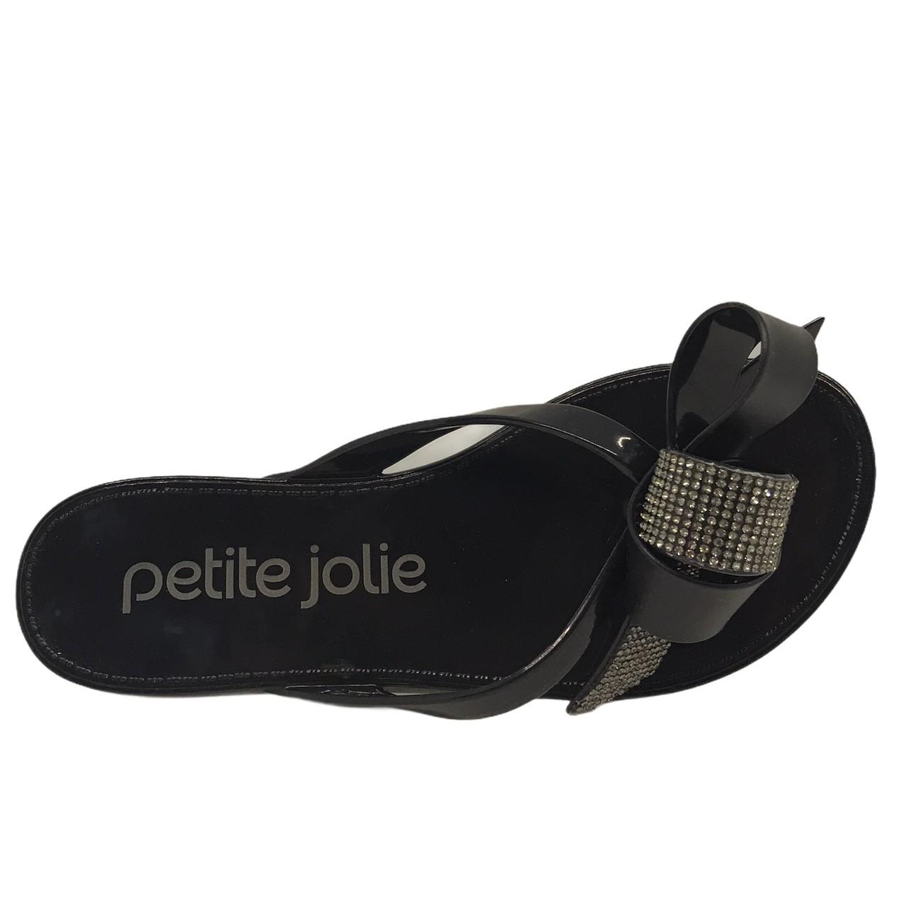 CHINELO PETITE JOLIE LUCKY PRETO PJ5584