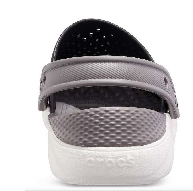 Crocs LiteRide Clog Preto Branco