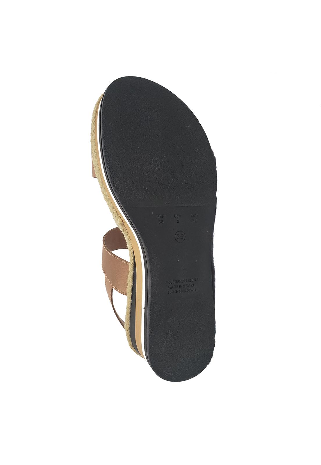 Sandália Bebece Flatform Caramelo 4015-241