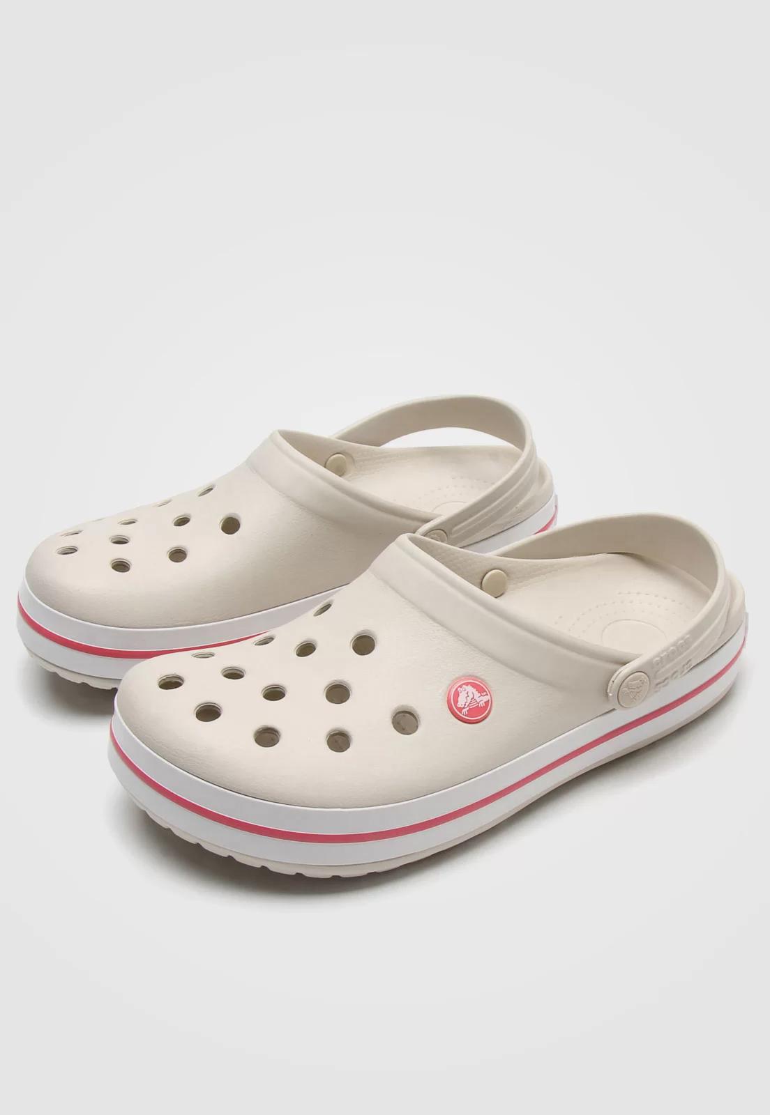 Sandália Crocs Crocband Clog Bege