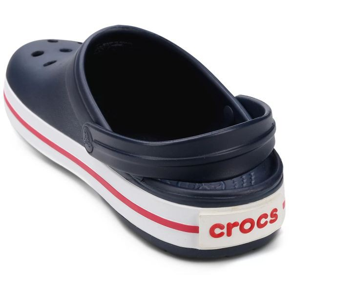 Sandália Crocs Crocband Clog Marinho e Branco