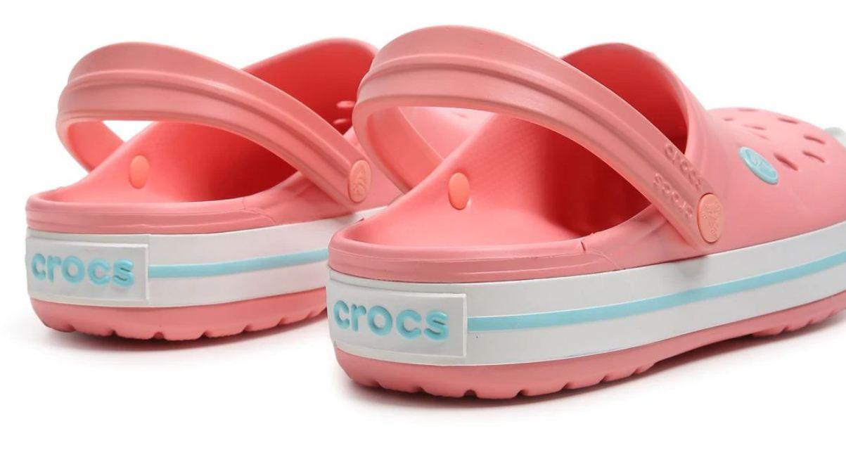 Sandália Crocs Crocband Rosa Pêssego