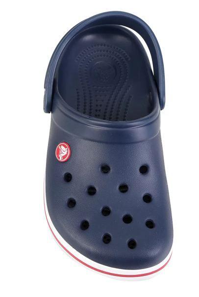 Sandália Crocs Infantil Crocband Clog - Azul e Vermelho