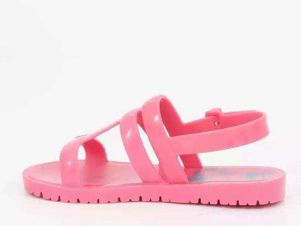 Sandália Infantil Barbie Rosa Brinde Iate Grendene Kids