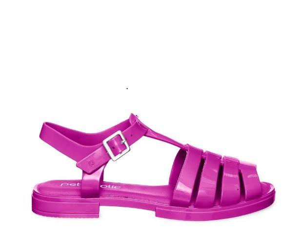 Sandália infantil Petite Jolie Olly Pink Pitaya PJ5397