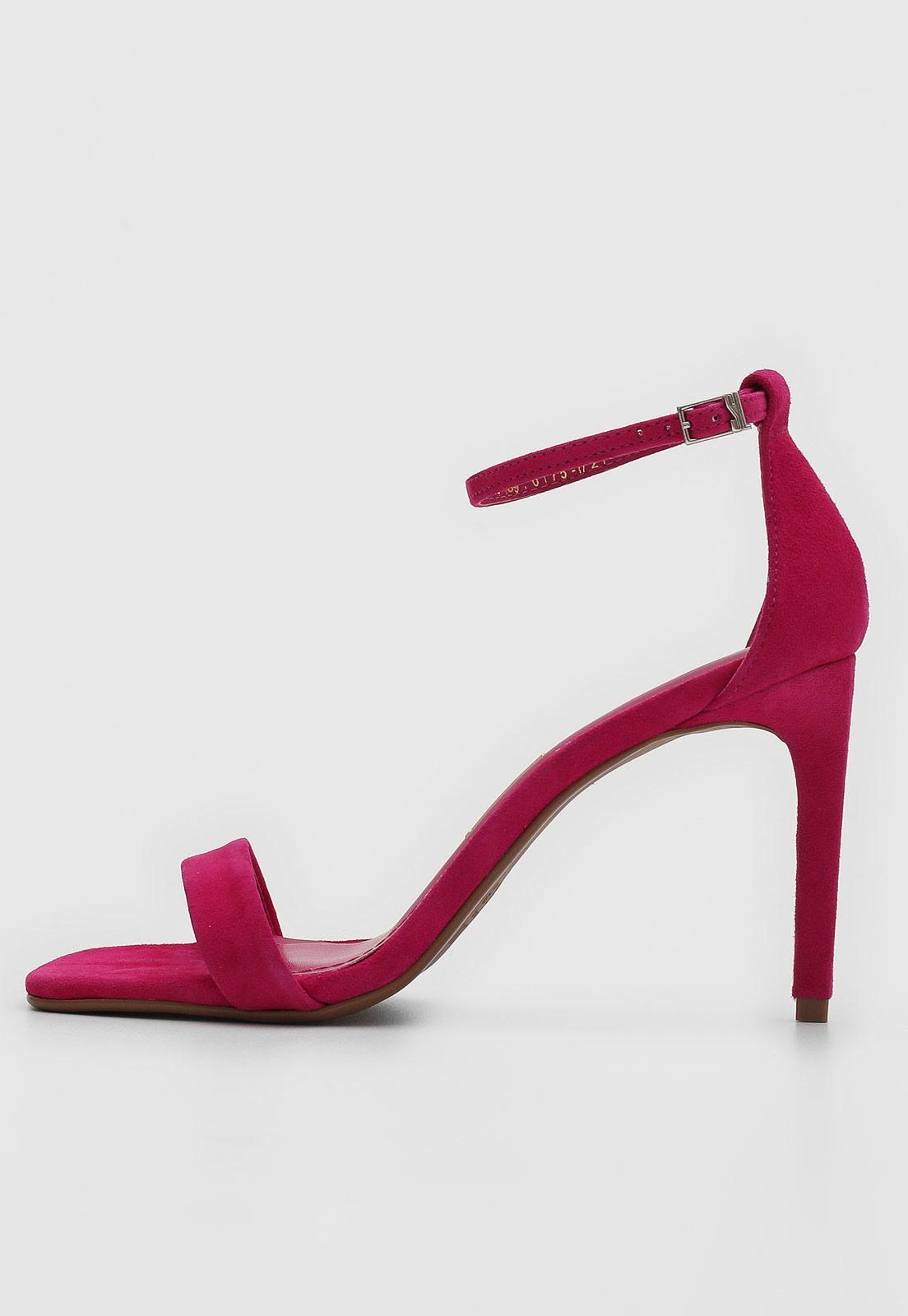Sandália Santa Lolla Tiras Pink