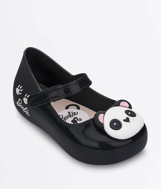 Sapatilha Infantil Preta Barbie My Friends Panda 22008