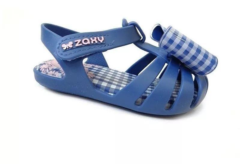 SAPATILHA INFANTIL ZAXY NINA DOCINHO 2 AZUL