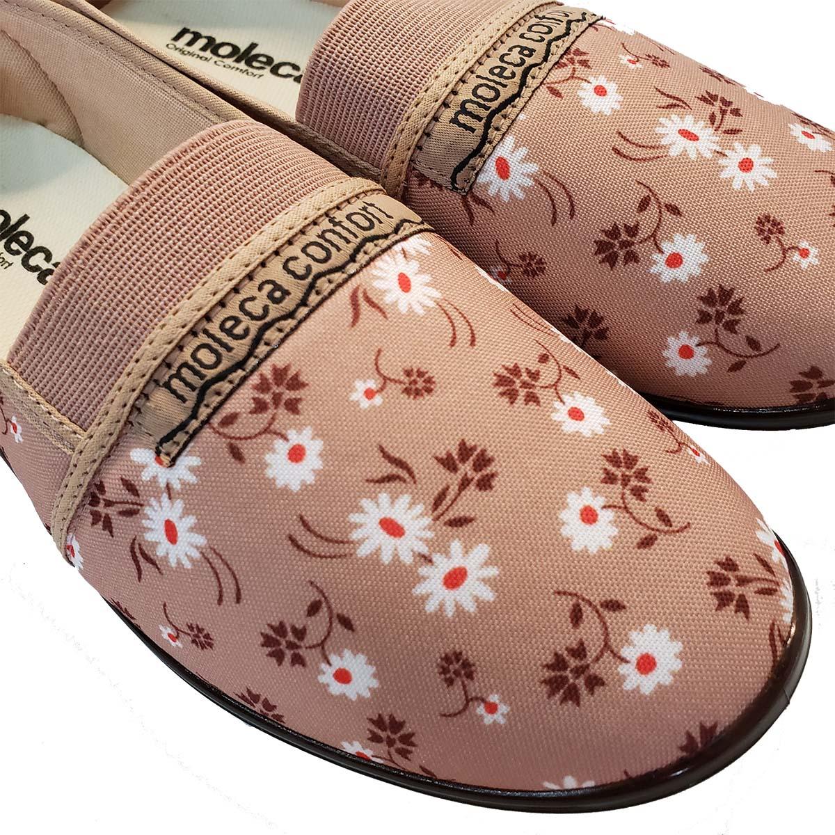 Sapatilha Moleca Confort Tradicional NUDE FLOR 520.59