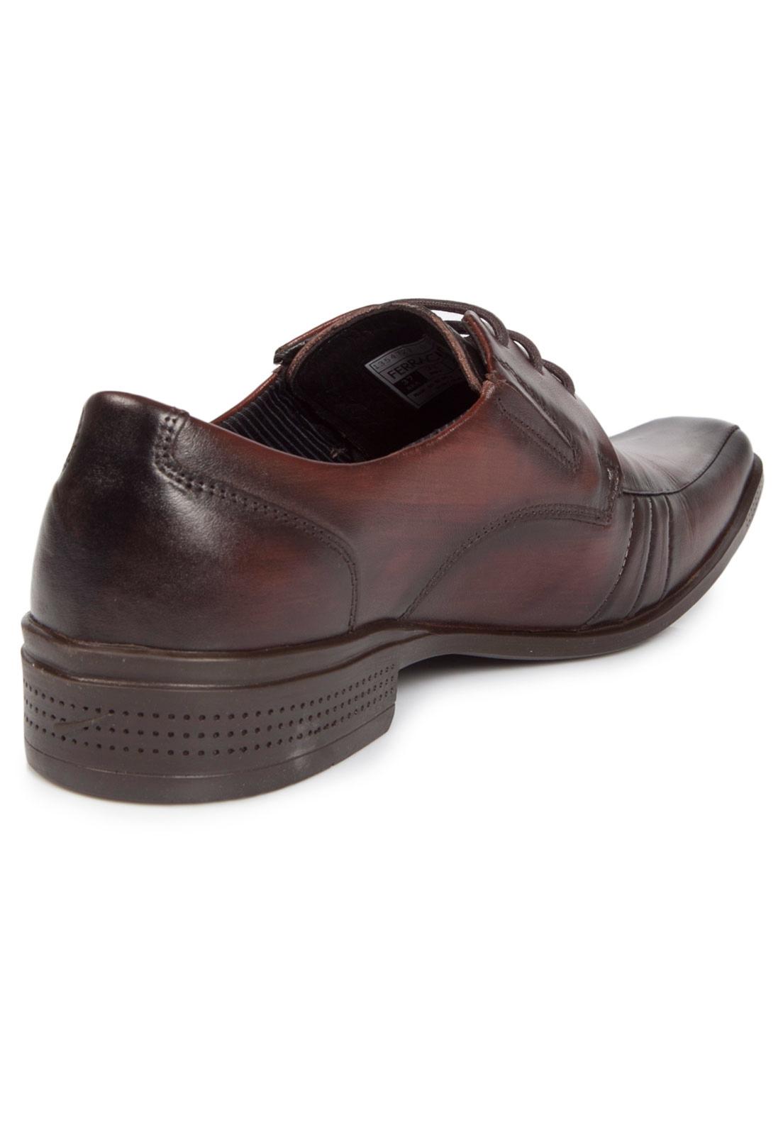 Sapato Casual Ferracini Frankfurt Marrom