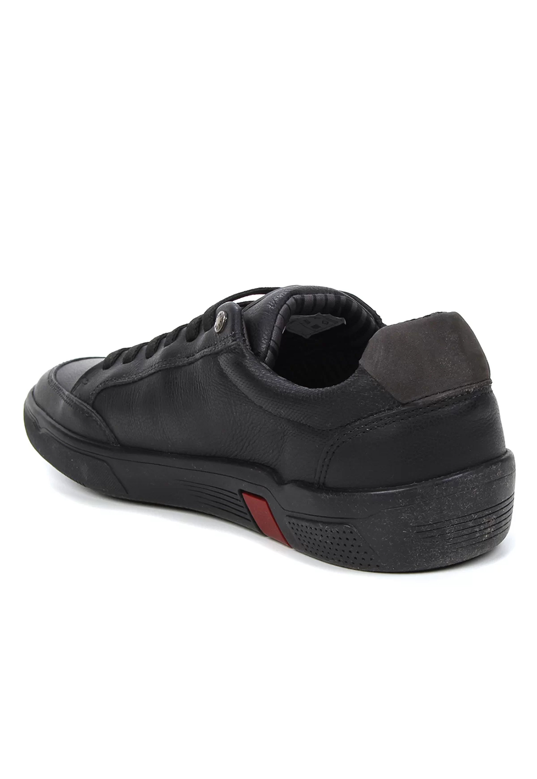 Sapato Masculino Couro Preto Sapatênis Montreal Ferracini 8954-566A