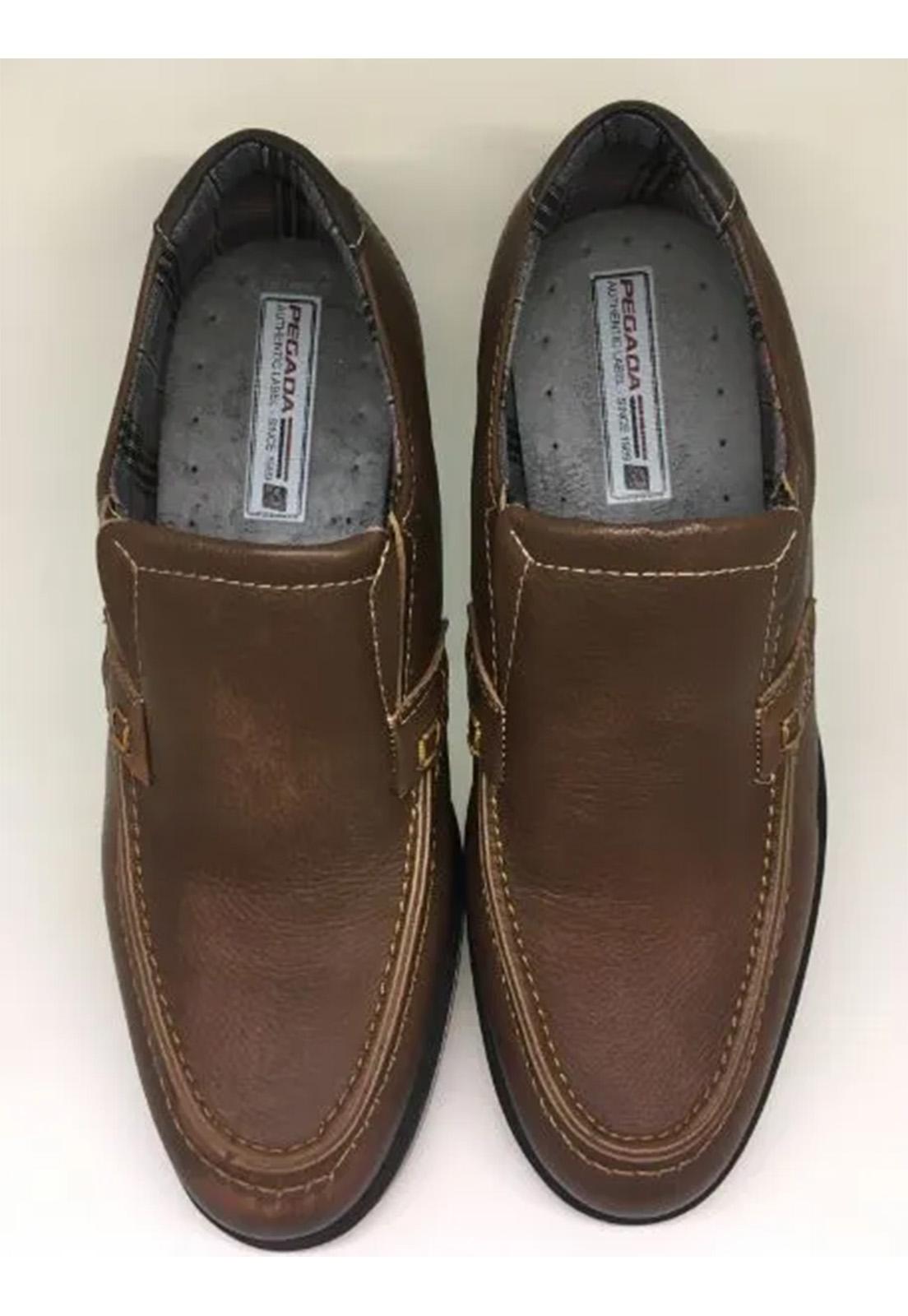 sapato PEGADA masculino marron
