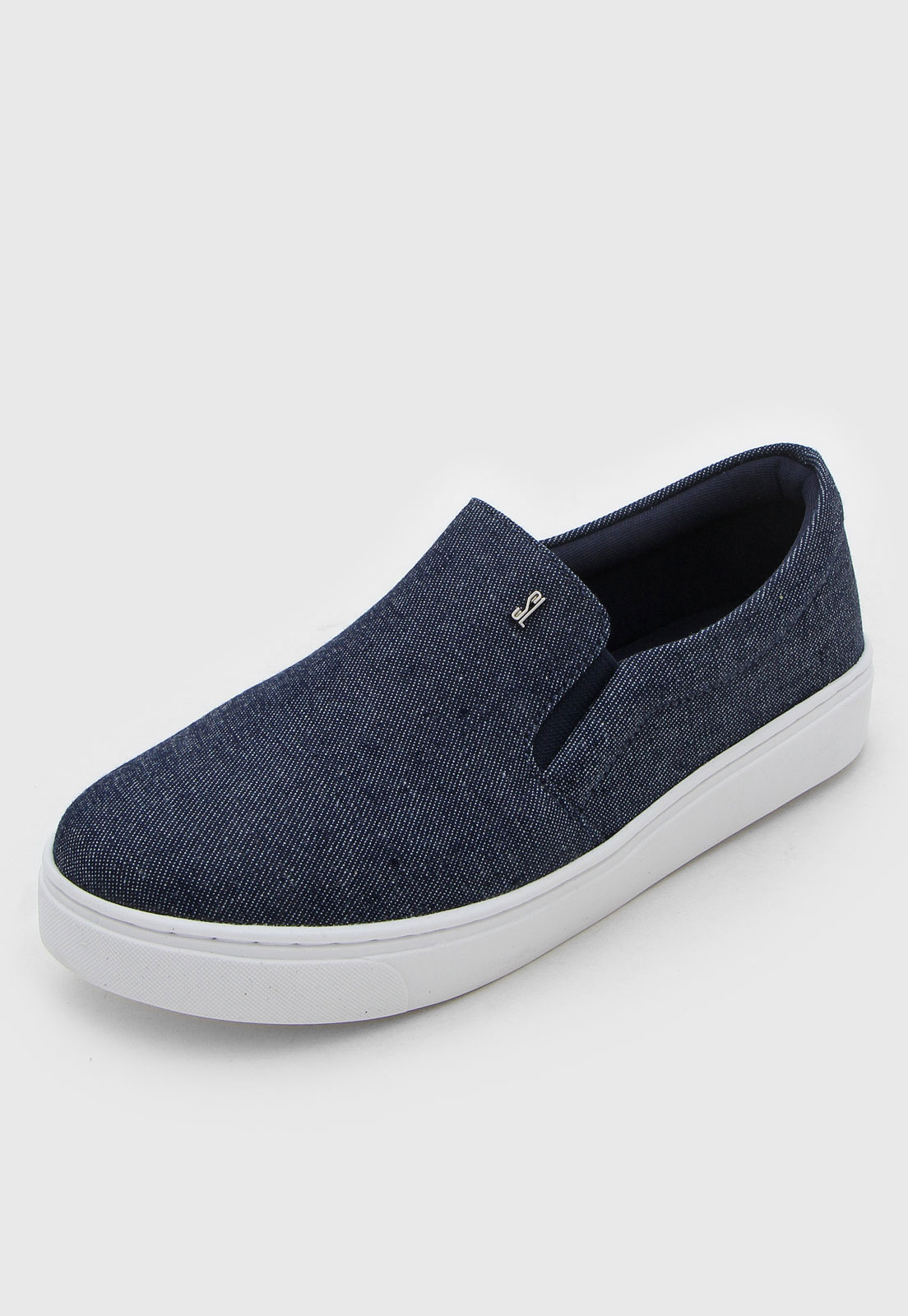 SLIP ON SANTA LOLLA CONFORT JEANS AZUL