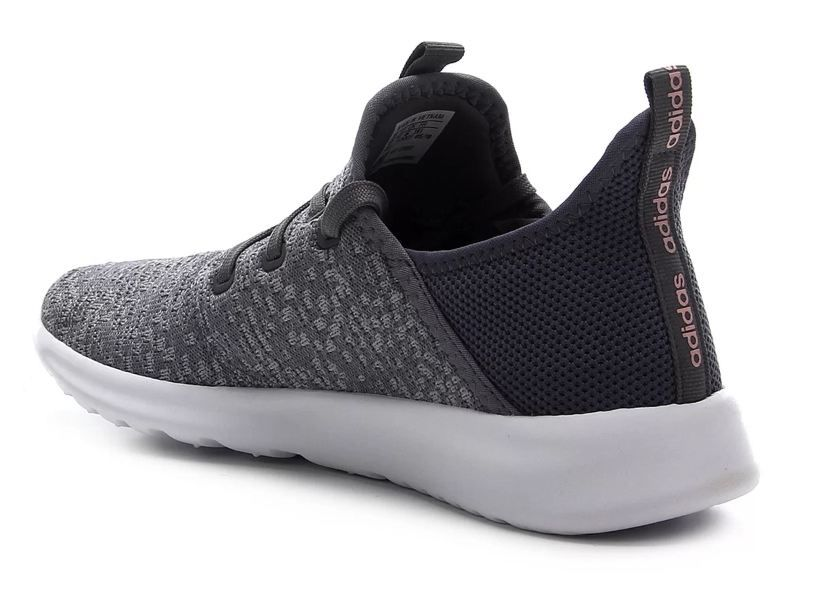 Tênis Adidas Cloudfoam Pure Feminino - Cinza e Branco