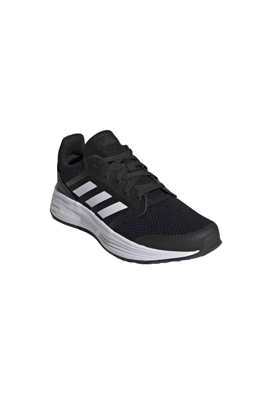 Tênis Adidas Galaxy 5 Preto e Branc