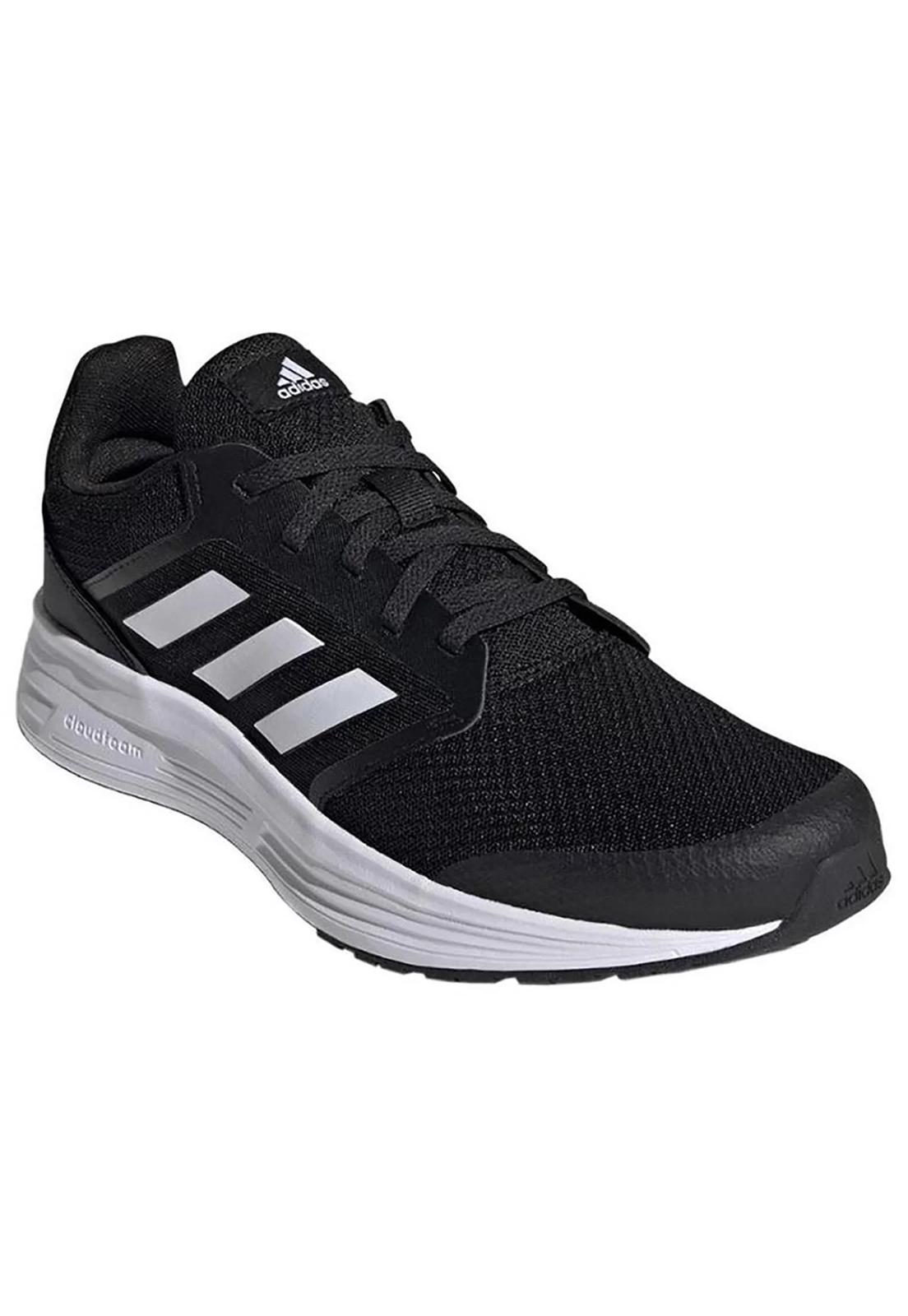Tênis Adidas Galaxy 5 Preto e Branco