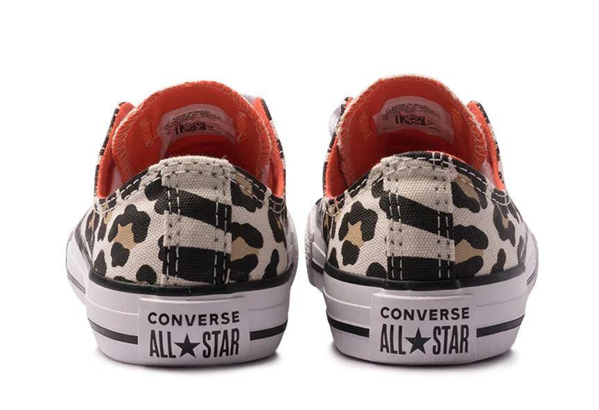 Tênis All Star Converse Infantil Onça Ck08090001 - Original
